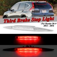 עבור הונדה crv crv לבן / אדום גבוה מיקומו Mounted נוסף רכב אחורי שלישי בלם אור עצור המנורה עבור הונדה CRV CRV 2012 2013 2014 2015 2016 (1)