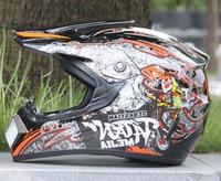 Motocicleta Casco Capacetes Motorcycle Helmet Moto ATV DIRT BIKE Motocross Racing Helmet S M L XL SIZE DOT Helmet