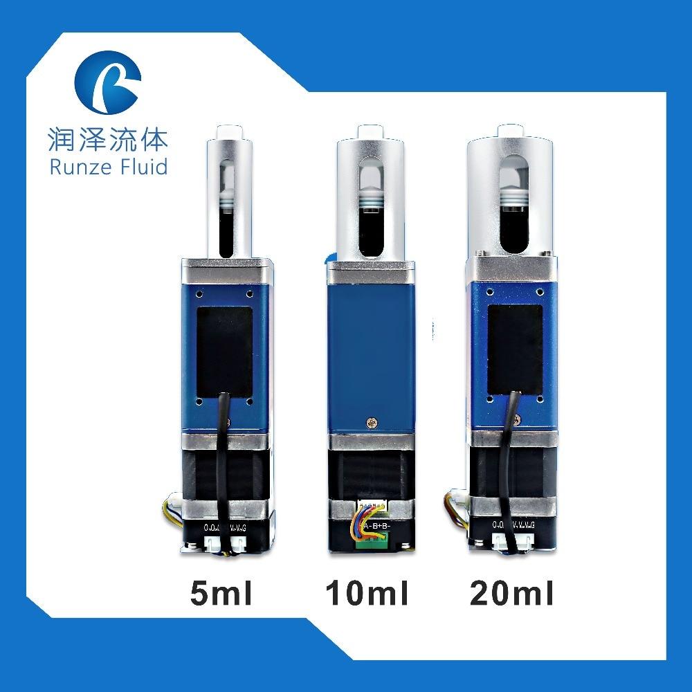 Contrôle de processus de Microlitre de pompe de seringue de microfluidique de 20 ml avec le conducteur