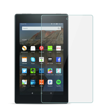 Buy 9H Full Covers Tempered Glass For Amazon Fire HD 8 Glass 2017 8.0 inch Tablet Screen Protector Protective Film Guard directly from merchant!