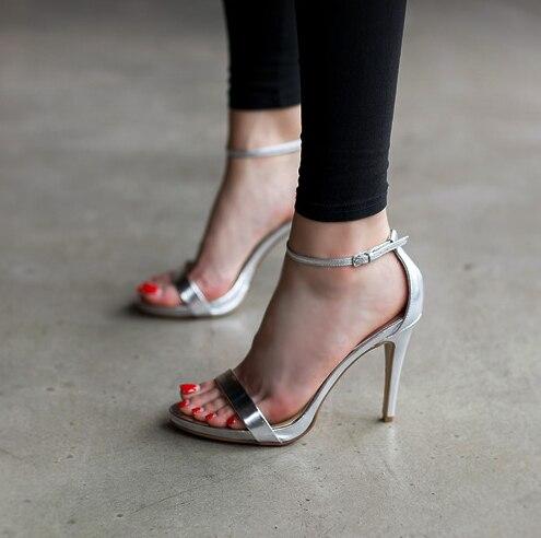 strap high heel sandals
