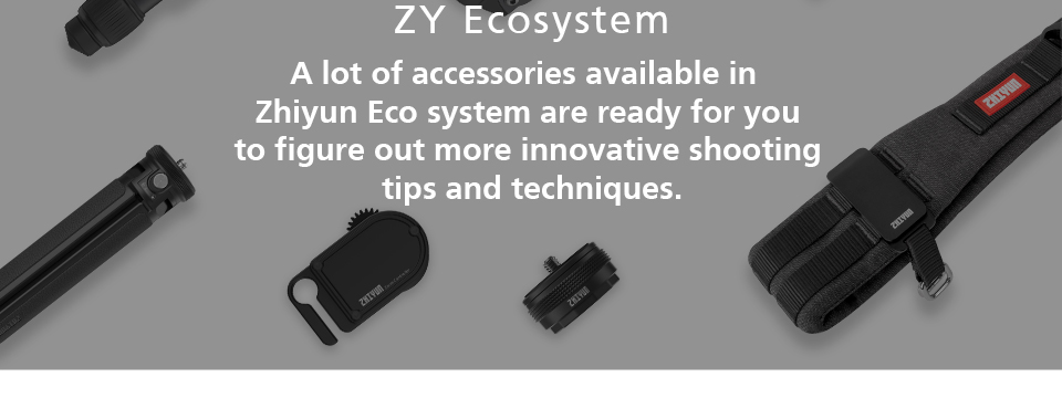 Zhiyun-tech weebill lab 3 eixos cardan handheld