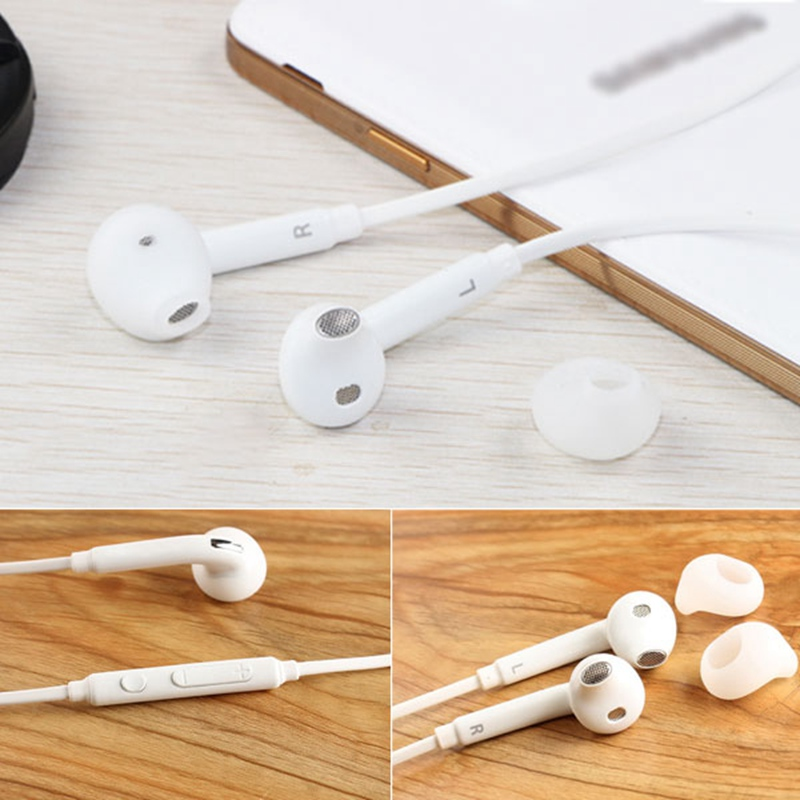 3.5MM White Earphone Headset Sport Running Stereo Remote Control Earbud with Microphone for Mobile Phone qkz c6 sport earphone running earphones waterproof mobile headset with microphone stereo mp3 earhook w1 for mp3 smart phones