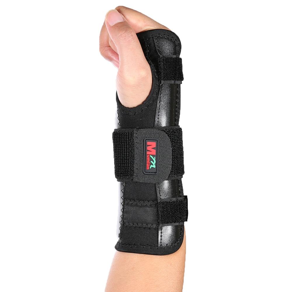 Mumian Breathable Wrist Support Absorb Sweat Training Exercises Wristband Aluminum Strip Wrist Wraps Bandage Hand Brace Strap