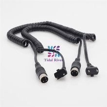 Dentist 2Pcs Cord Spiral rope for ELECTRIC Marathon SHIYANG Handpiece Micromotor цена