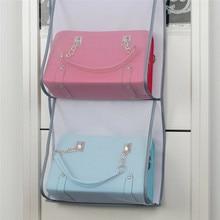 壁ハンギング収納バッグオーガナイザー雑貨ポケットポーチホルダー家の装飾浴室寝室の組織