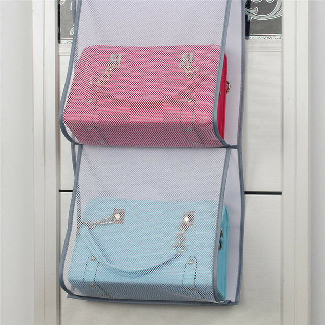 Wall Hanging Storage Bags Organizer Sundries Pocket Pouch Holder Home Decor Bathroom Bedroom Organization