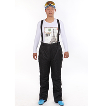 2016 Hot Sale Warm Polyester Snowboard Skiing Trousers Breathable Waterproof Pants Men Winter Ski Pants