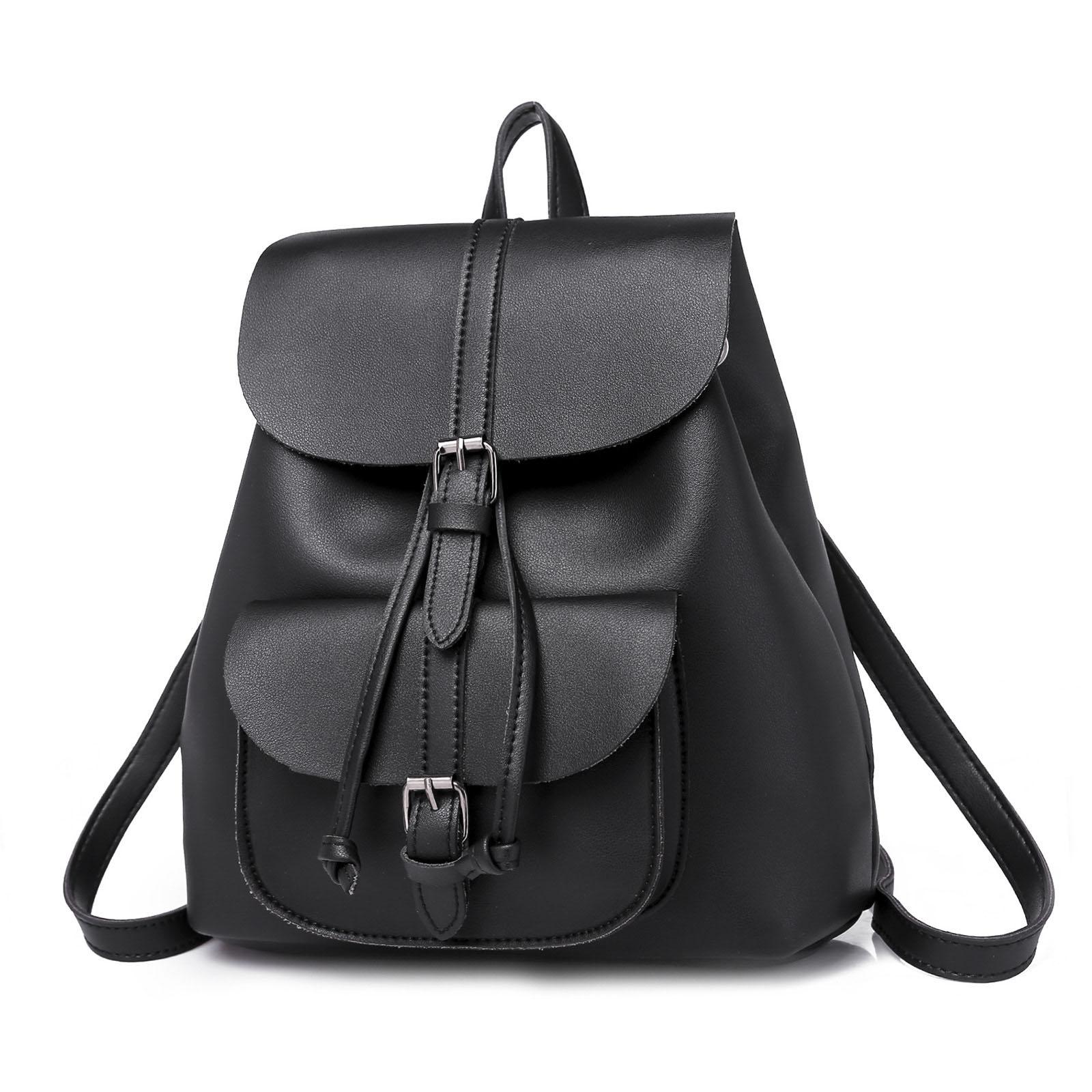 2f9341bc69c6 FGGS-женский рюкзак, Модный повседневный рюкзак из искусственной кожи на  плечо в стиле ретро