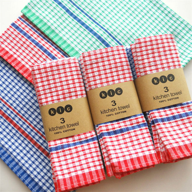 Charmant Cloth Table Napkins Plaid Napkin Wedding Home Kitchen Towel Tea Towel 45 *  70cm 3pcs/lot