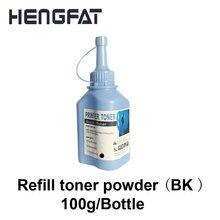 Черный тонер для hp и Canon Универсальный Refill Тонер картридж 100 г/бутылки* 2 бутылки