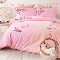 15 Colors 100 Cotton Embroidered Fashion Brand Bedding Set 4Pcs King Queen Size Bed Fit Sheet