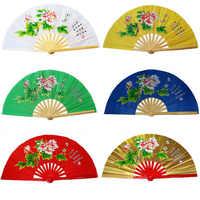 Fitness tai chi fan martial artsshirts kung fu taichi taiji leistung zwei drachen fans 17 farben
