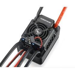 HOBBYWING EZRUN WP SC8 120A 120A-RTR wodoodporny bezszczotkowy ESC regulator prędkości 2-4S Lipo Fit 3660 3674 silnik do 1/10 1/8 RC Ca