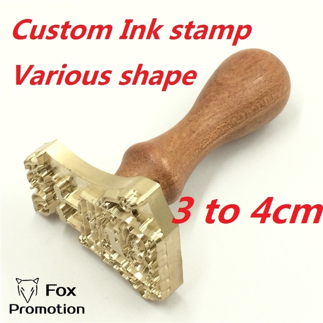 Custom Logo Brass Stamp wood handle Stamping on Cake,Personalized Mold heating on Wood/Leather,league DIY gift,700pcs logo