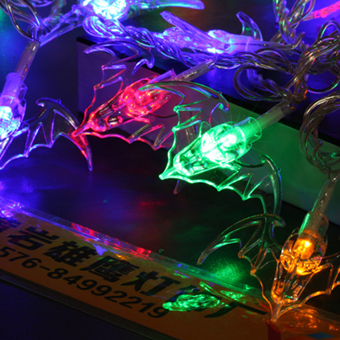 For Christmas Party Outdoor Decorations LED Holiday Lights