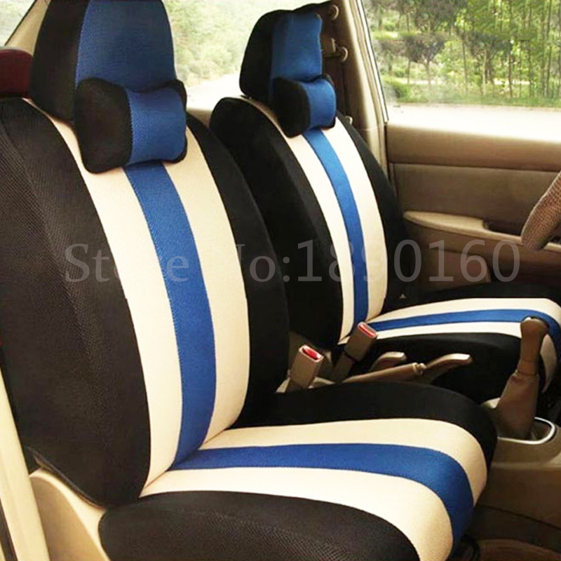 Universal only front car seat cover for SsangYong Korando Actyon Rexton Chairman Kyron car accessories car styling auto stickers