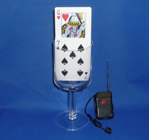 Remote Control Card Rise -Magic trick, stage magic card magic,Fire magic,classic toys  remote control electronic ignition device suit for stage magic trick magic trick with free shipping