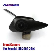 Liandlee AUTO CAM For Hyundai I45 2009-2014 2010 2011 / Car Front View Logo Embedded Camera ( Not Reverse Rear Parking Camera ) liandlee for hyundai sonata yf 2009 2014 2010 car front view logo embedded camera auto cam not reverse rear parking camera