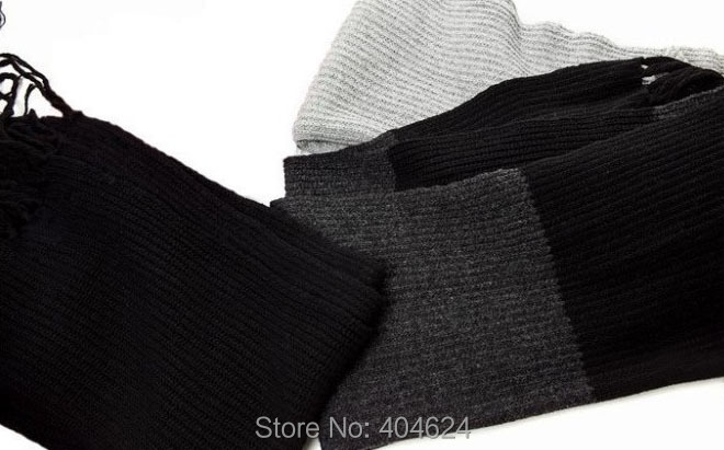 Apparel Accessories Fashion Korean Style New Long Acrylic Stripe Men Matching Leisure Winter Knitted Shawl Scarf Warm Big Size Neckerchief Handmade Terrific Value