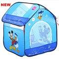 Presente da criança chegam novas crianças bonitos dos desenhos animados de Play Game casa crianças do bebê jogo tenda respirável tenda brinquedo do bebê Super presente DSN001