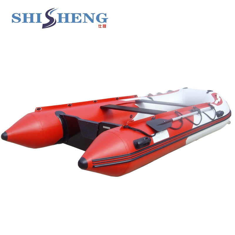 Chinese Hard ALuminum Floor PVC Material Inflatable Boat with CE Certificate ce certificate cheap inflatable boats with canopy for sale marine boat yacht