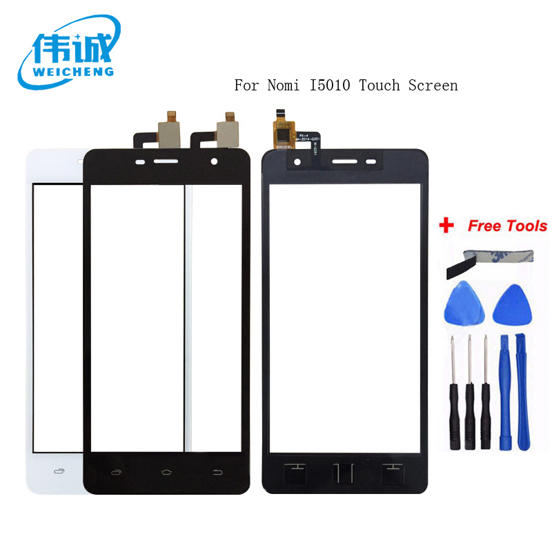WEICHENG Top Quality For Nomi i5010 Touch Screen Digitizer Replacement Parts Touch Panel Sensor Glass LensWEICHENG Top Quality For Nomi i5010 Touch Screen Digitizer Replacement Parts Touch Panel Sensor Glass Lens