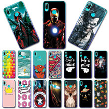 Newest Printed Case For Huawei P Smart 2019 Super Novelty Silicon Phone Shell For Huawei P30 P20 Pro Cover Fundas For P20 Lite(China)