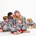 Baby Children Kids Adult Mom Dad Star Wars Christmas Long Sleeve Floral Family Matching Outfits Pajamas Set Sleepwear Nightwear