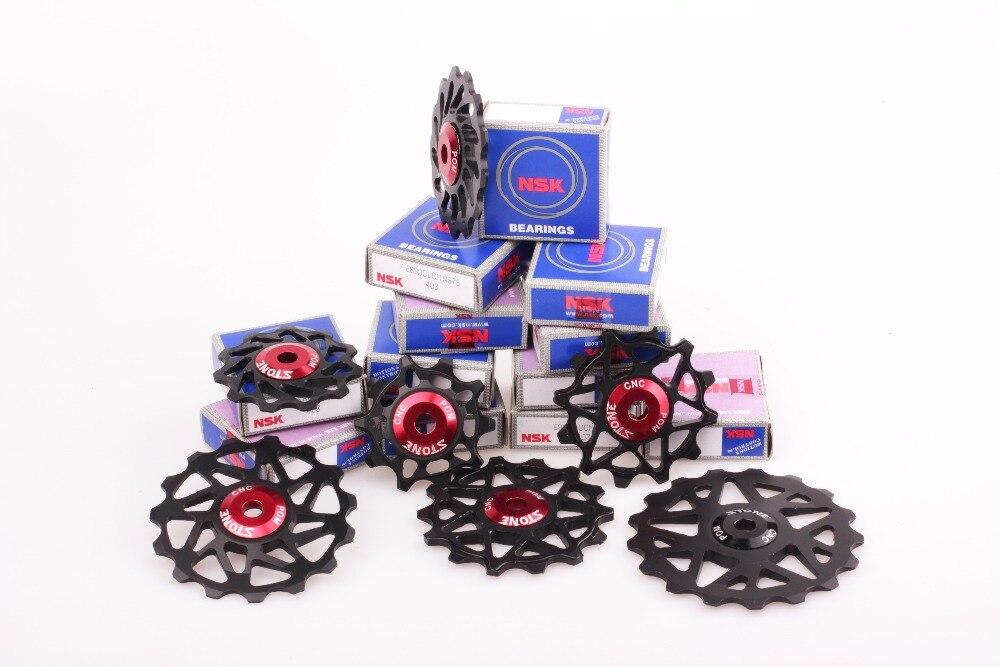 2 Two Universal Derailleur //Gear Pulleys//Jockey Wheels Set 10T fits Shimano Red