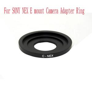 Image 4 - Adapter Ring C Mount Movie Lens Macro ring For C FX C PQ C EOSM C N1 NEX  C M4/3  CCTV Movie Lens