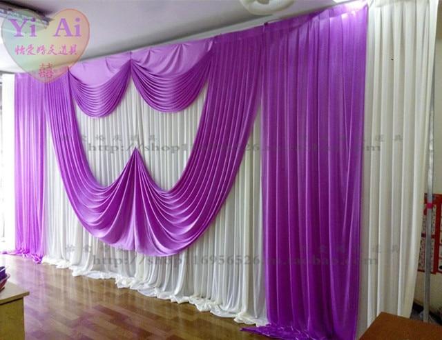 boda props fondo cortinas cortina cortina decoracin de la boda matrimonio boda drapy number pies