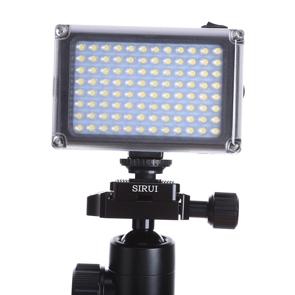 лучшая цена Mini Professional LED Video Light Fill Light Film and Television Wedding News 96 Photographic Lamp for Camera Shoot