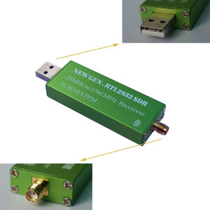 Image 2 - Alta Stabilità 25 MHZ a 1760 MHZ Ricevitore RTL SDR 0.5PPM TXCO Supporto AM/NFM/FM/DSB/ USB/L RTL2382U DVB T RTL SDR Ricevitore