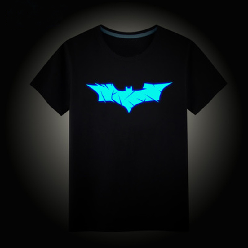Children s font b T shirt b font Boys Girls Noctilucence Luminous Brand T shirts Kids