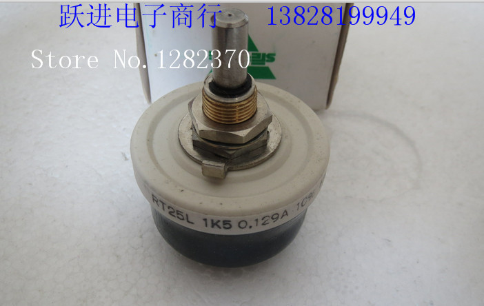 [BELLA] Imported VISHAY Vishay - Sfernice RT25L 1.5K 10% ceramic wirewound potentiometers handle length 22MM  --2PCS/LOT[BELLA] Imported VISHAY Vishay - Sfernice RT25L 1.5K 10% ceramic wirewound potentiometers handle length 22MM  --2PCS/LOT