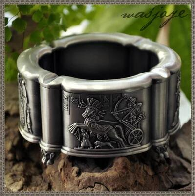 European ancient Egyptian metal creative personality Cigarette Smokeless Cigar Ashtray cigarette machine smoking accessor YHG004