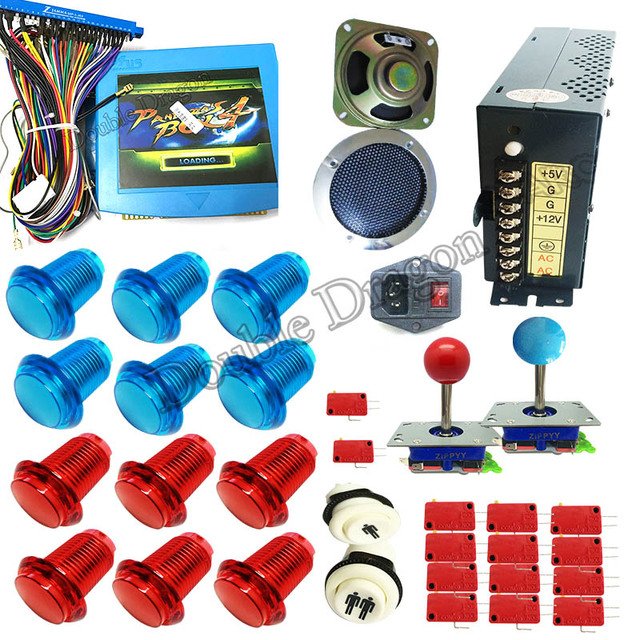 Newest diy arcade cabinet kit pandora 4 645 in 1 game board arcade PCB joystick LED_640x640 newest diy arcade cabinet kit pandora 4 645 in 1 game board arcade Off-Road Light Wiring Harness at crackthecode.co