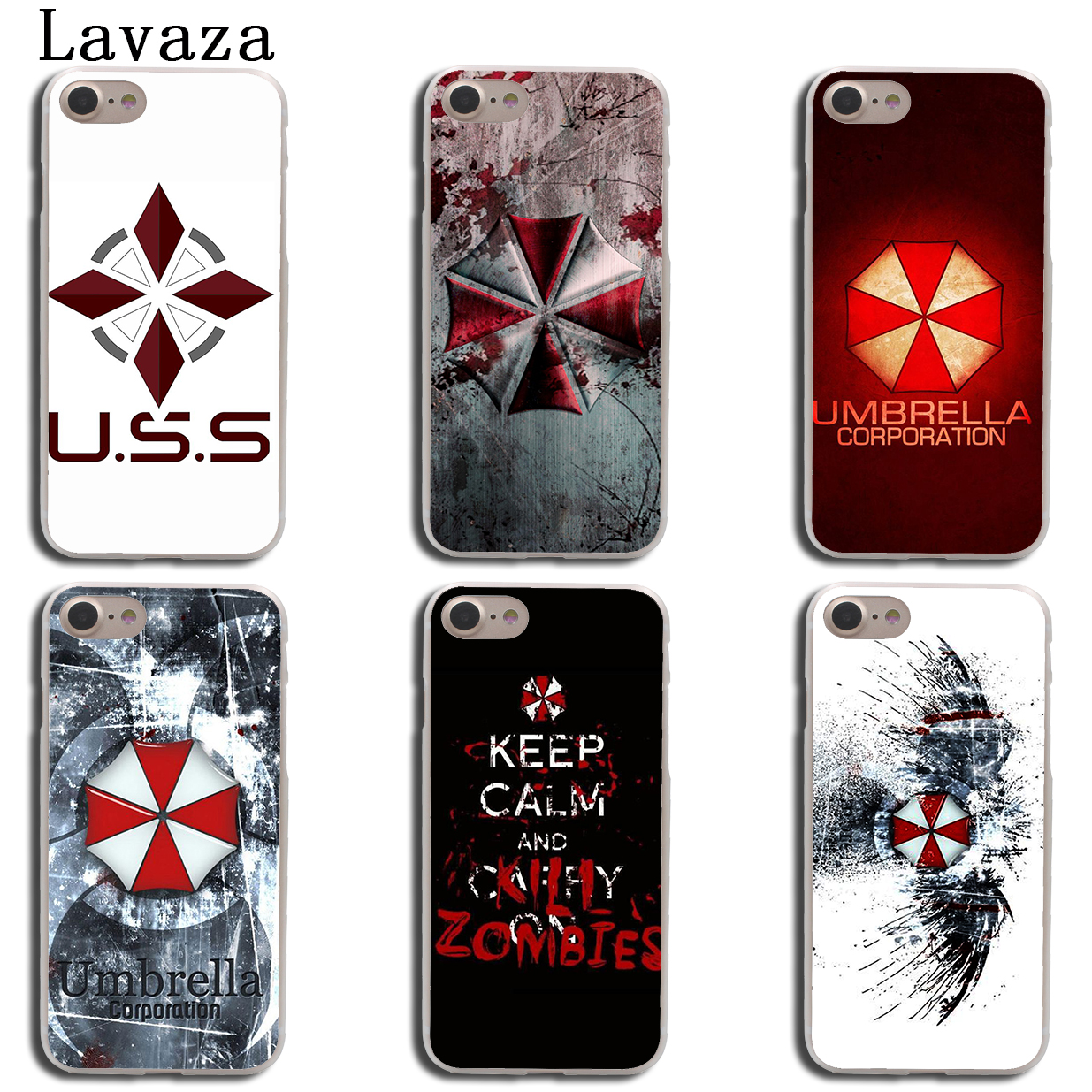 Binful Iphone Case Cover Transparent Coque For Iphone X Xr Xs Max 8 7 6s 6 Plus 5 5s 5c Se 4s 4 Resident Evil Umbrella Logo Cellphones & Telecommunications