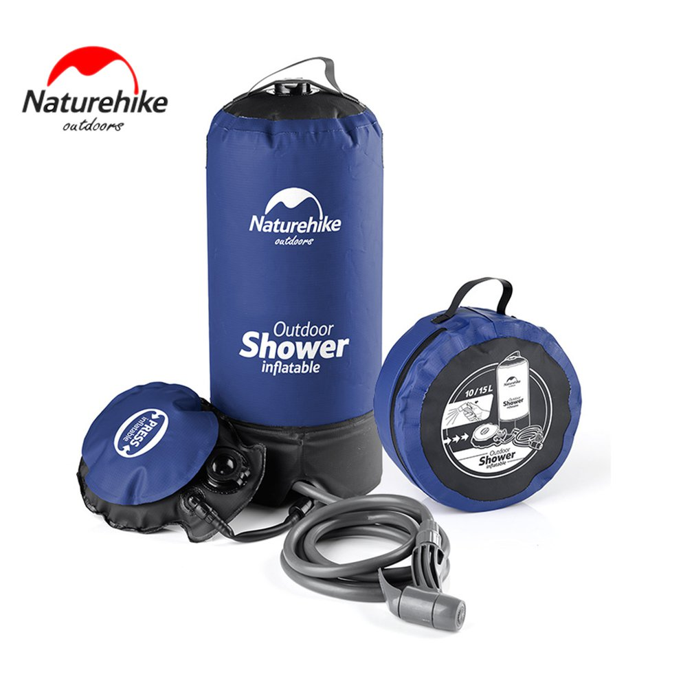 Naturehike Bath Bag Outdoor Shower Bag Portable Water Storage Bag Litre for Camping Hiking Hunting Fishing Picnics Hot Sale
