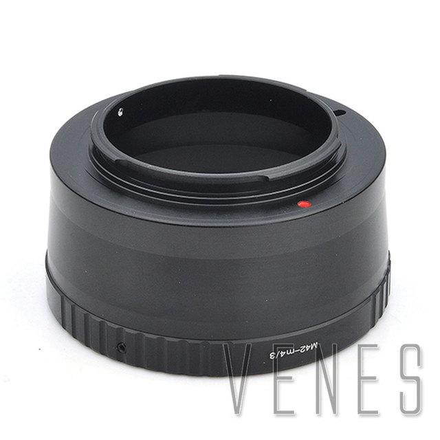 Venes M42-M4/3, Mount Adapter Ring Lens Adapter For M42 lens to Suit for Micro 4/3 Camera GH3 G5 GF5 E-Pl5 E-M5 GX1 E-PL6