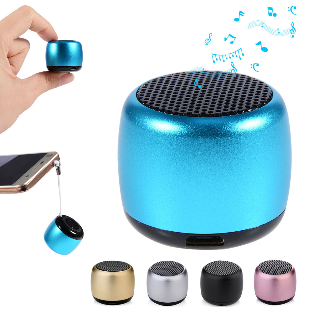 Mini Portable Stereo Wireless Bluetooth Speaker With Mic Music Loudspeaker with Remote Shutter Support Calls for PhonesMini Portable Stereo Wireless Bluetooth Speaker With Mic Music Loudspeaker with Remote Shutter Support Calls for Phones