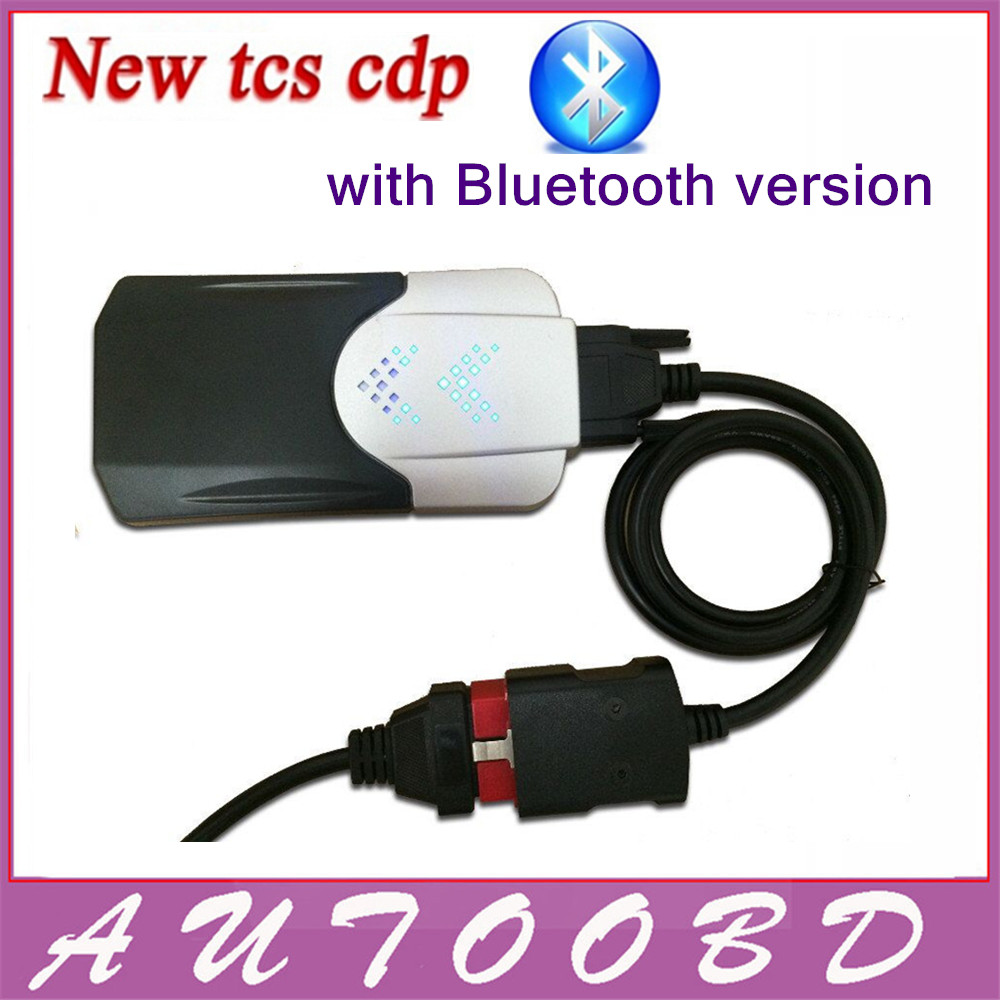 New Vci 2014 R2 Keygen CD TCS CDP Pro with Bluetooth Diagnostic tool for Auto Cars