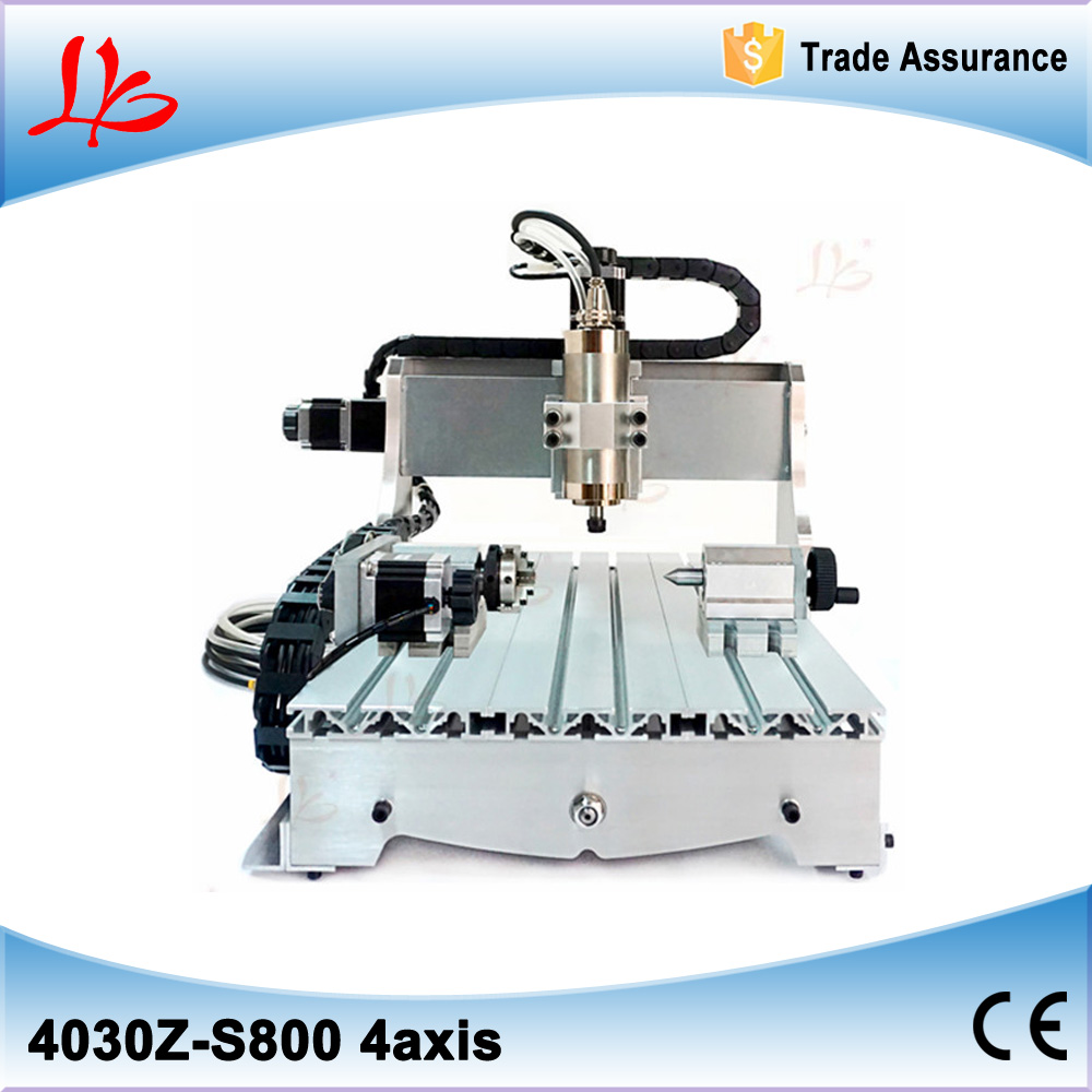 Best price 3D CNC Router 3040 Z-S 800w spindle , 110/220V best price 5pin cable for outdoor printer