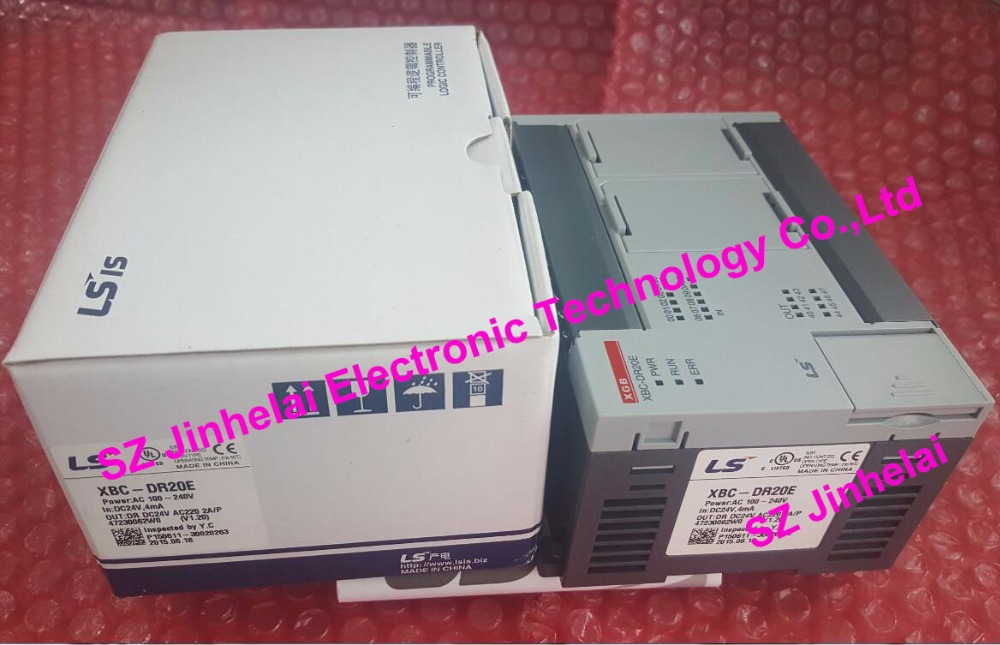 100% New and original  XBC-DR20E  LS(LG)   PLC controller 100% new and original g6l eufb ls lg plc communication module e net open type fiber optic