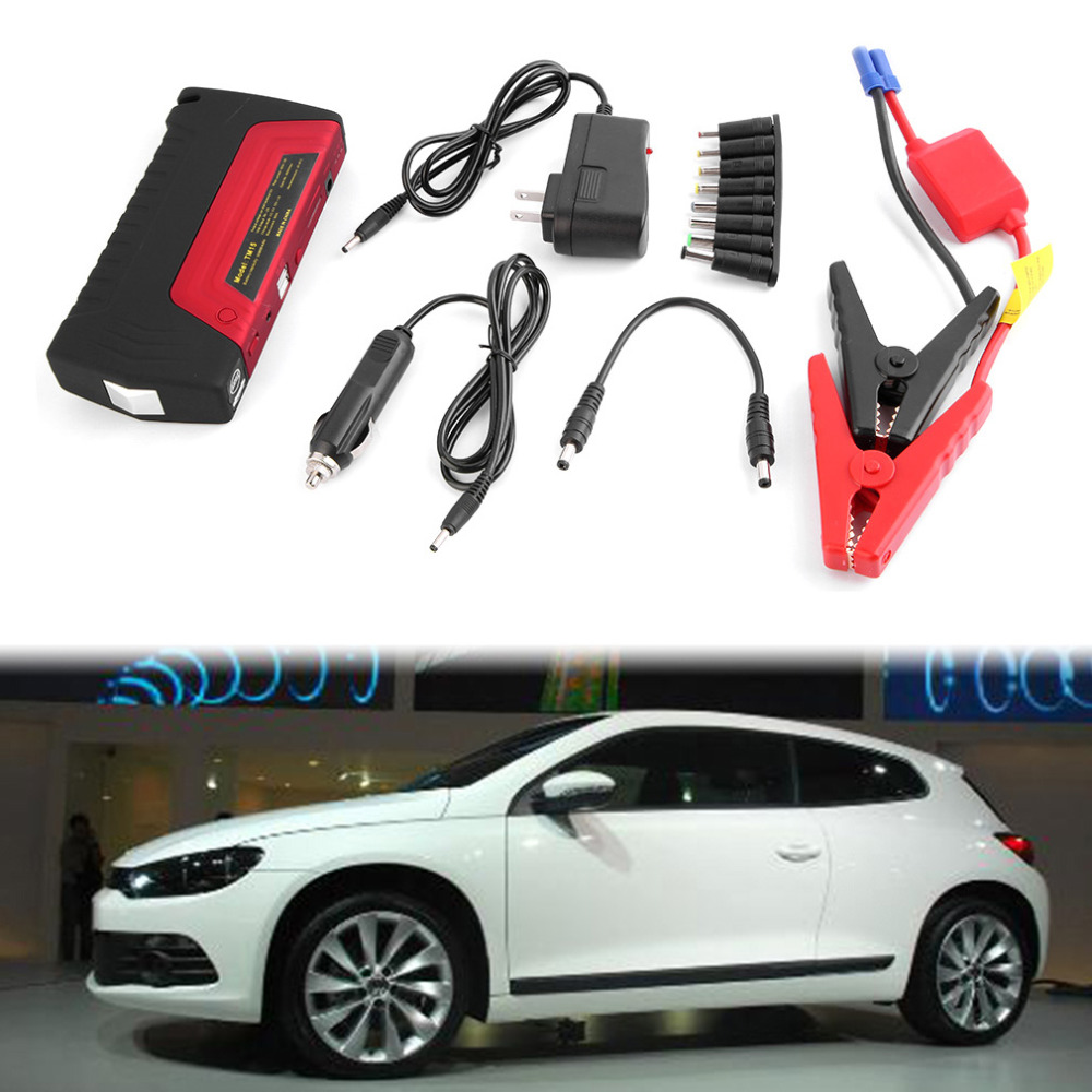 2016 New Arrival High Capacity 50800mAh Car Mini Portable Emergency Battery Charger for universal Car