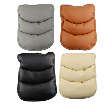 Zlord Car Armrest Cover Pad Center Console Arm Rest Seat Pad fit for Hyundai IX35 IX45 IX25 Sonata Verna Solaris Elantra Tucson image