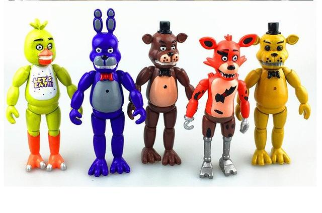 five nights at freddy s fnaf 5 5 inch pvc action figure toy foxy