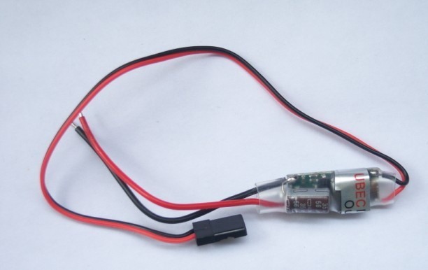 F00118, New RC 3A U-BEC UBEC 2-6S Input: 5-23V Output:3A ,5V