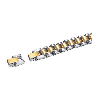 Image 4 - RainSo 99.999% Pure Germanium Bracelet for Women Korea Popular Stainless Steel Health Magnetic Germanium Energy Power Jewelry